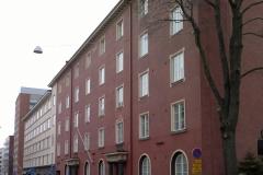 As. Oy Rauhankatu 1b, Turku julkisivusaneeraus